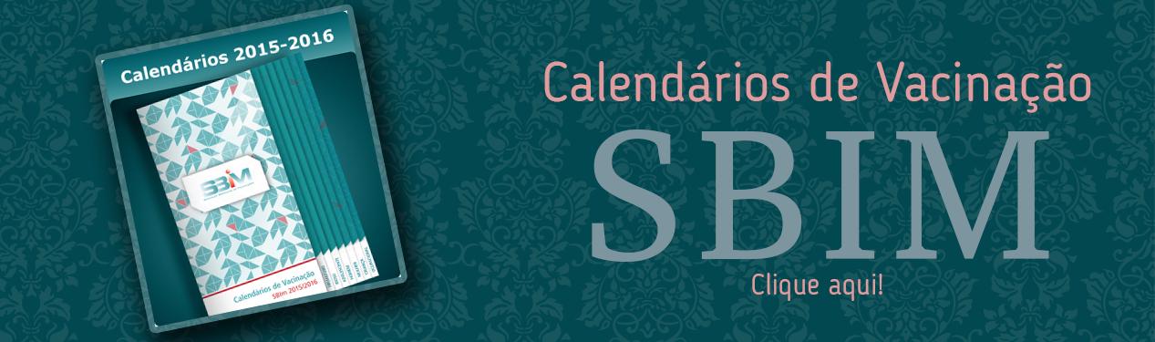 Calendário de vacinação SBIM