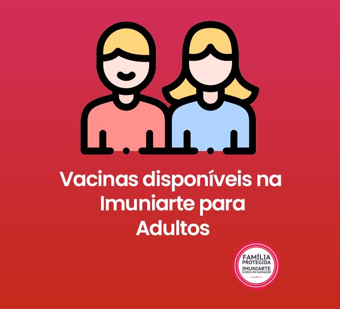Vacinas para adultos